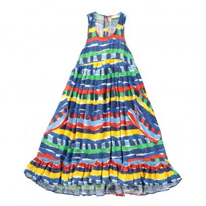 Stella McCartney Kids Robe Rayures Poco-listing