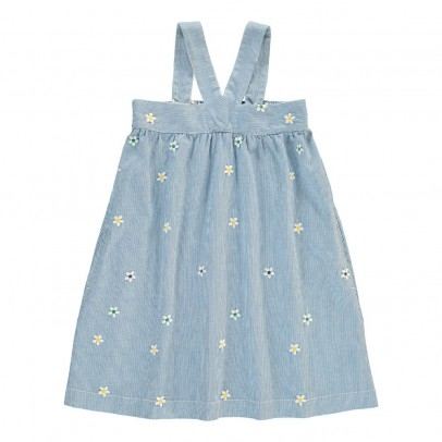 Stella McCartney Kids Crocus Embroidered Flower Dress-listing