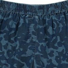Stella McCartney Kids Short Chambray Camouflage Coralle-listing