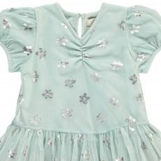 Stella McCartney Kids Missy Iridescent Floral Mesh Dress + Bloomers-product