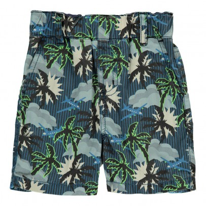 Stella McCartney Kids Lucas Baby Palm Tree Bermuda Shorts-product