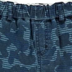 Stella McCartney Kids Bermuda Chambray Camouflage Neonato-listing