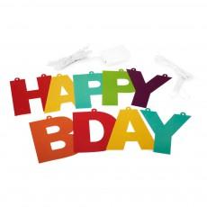 Smallable Toys Ghirlanda Happy Birthday con LED-listing