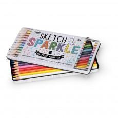 Smallable Toys Lápices de colores con paillettes - Set de 12-listing