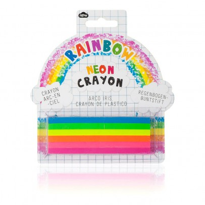 Smallable Toys Crayons fluo Arc-en-ciel - Set de 6-listing