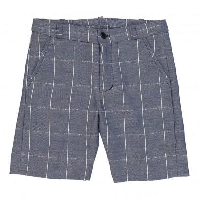 MAX & LOLA Basta Checked Bermuda Shorts-listing