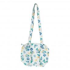 Le Petit Lucas du Tertre 30x18 cm Quilted Cotton Floral Day Bag-listing