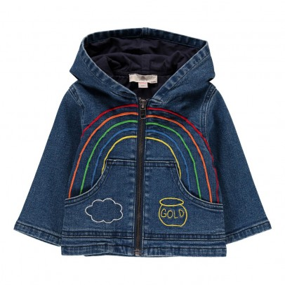 Stella McCartney Kids Chaqueta Detalles Bordados Bubba-listing