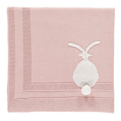 Stella McCartney Kids Snowball Cashmere and Cotton Rabbit Blanket-listing