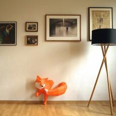 Paperwolf Figurine décorative renard-listing