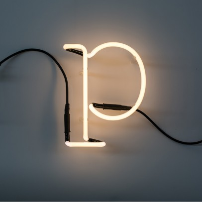 Seletti Neon Buchstabe P -listing
