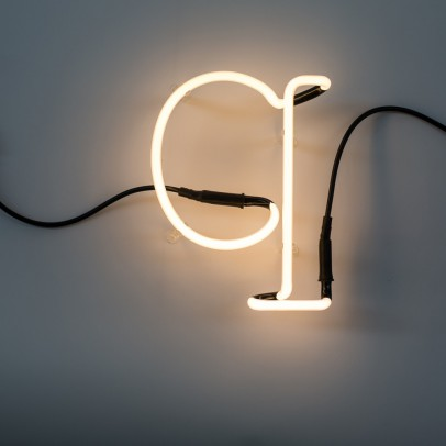 Seletti Neon Buchstabe Q -listing