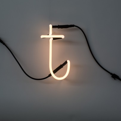 Seletti Neon Buchstabe T -listing
