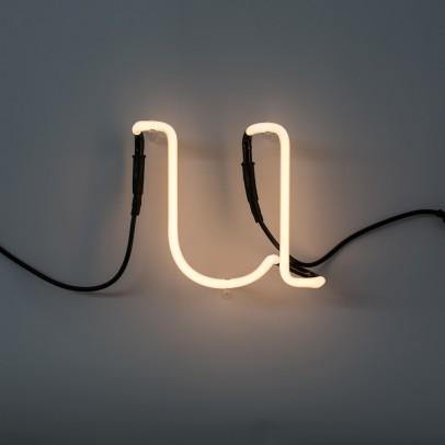 Seletti Neon Buchstabe U -listing
