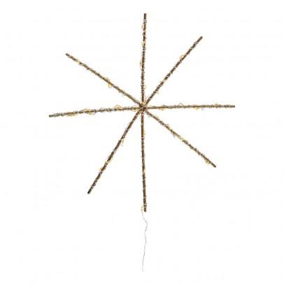 Zoé Rumeau Nachtlampe LED Mini Flocke Zoé Rumeau x Smallable- Gold -listing