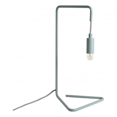 Coming B Black and White Wire Desk Lamp-listing