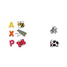 Djeco Puzzle de madera letras-product