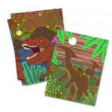 Djeco Cartas para rascar El reino de los dinosaurios-product