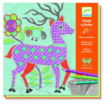 Djeco Mithila Scartch Picture-product