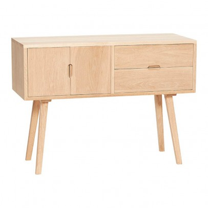 Hübsch 2 Drawer Oak Chest-listing