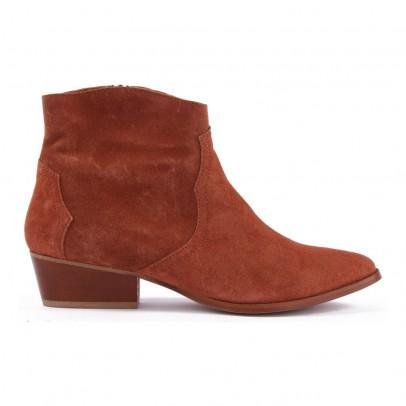Anonymous Boots Suède Zippées Fiona-listing