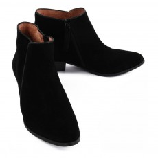 Anonymous Boots Suède Zippées Bella-listing