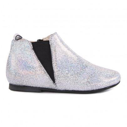 Manuela de Juan  Boots Zippées Paillettes Eloise-listing