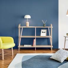 Hartô Simone Bookshelf - Pink and Natural Oak-listing