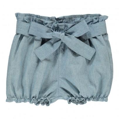 Tartine et Chocolat Shorts Chambray Cintura-listing