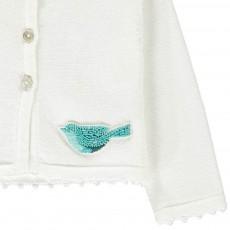 Tartine et Chocolat Cardigan Oiseau Perles-listing