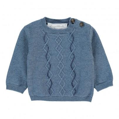 Tartine et Chocolat Cable Stitch Pima Cotton Jumper-listing