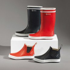 Aigle Fur-Lined Lolly Pop Fur Rain Boots-listing