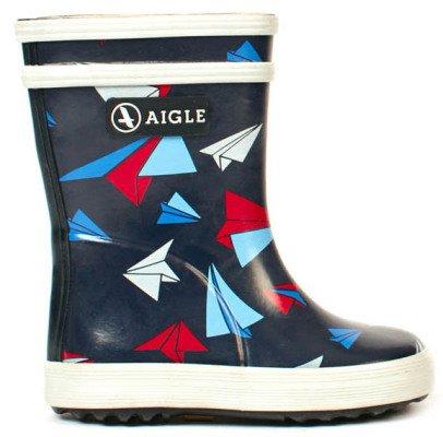 Aigle Baby Flac Kid Airplane Rain Boots-listing