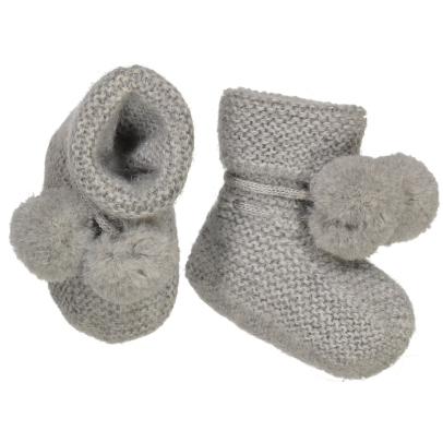 BABY ALPAGA Lightning Alpaca Wool Baby Slippers-listing