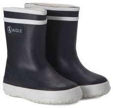 Aigle Fur-Lined Baby Flac Fur Rain Boots-listing