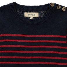 BARQUE Pull Marinière-listing