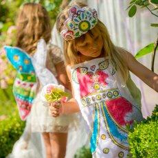 Marielle Bazard Grembiule da colorare con 4 pennarelli - principessa-listing
