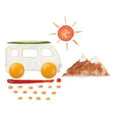 Luckies Voiture emporte pièce Eggmobile œuf-listing