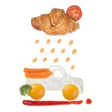 Luckies Coche Eggmobile huevo-listing