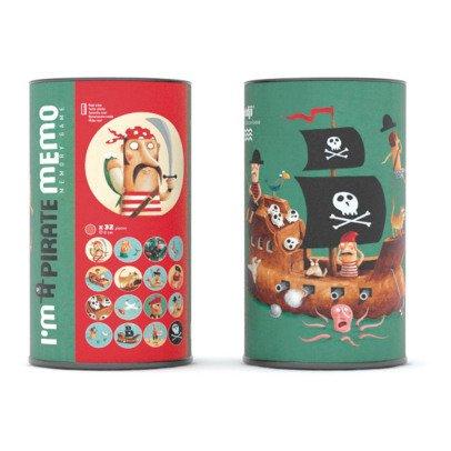 Londji Jeux du mémo pirate Multicolore-listing