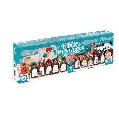 Londji Puzzle 10 pinguini-listing