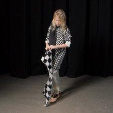 Bobo Choses Robe Damiers Coton Bio-listing