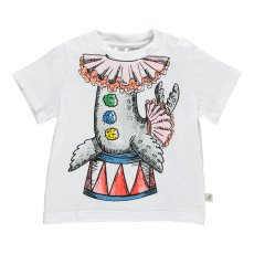 product-Stella McCartney Kids Chuckle Circus Sea Lion T-Shirt
