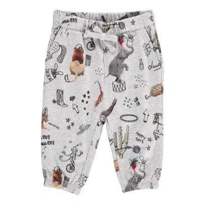 Stella McCartney Kids Loppie Circus Animal Jogging Bottoms-listing
