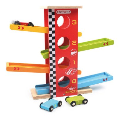 Vilac Stunt Racing Cars Multicoloured-listing