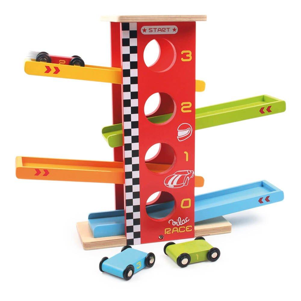 Vilac Stunt Racing Cars Multicoloured-product