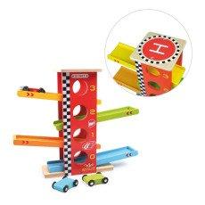 Vilac Circuito Macchine Racing Multicolore-listing