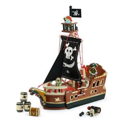 Vilac Ô mon bateau pirate ! Multicolore-listing