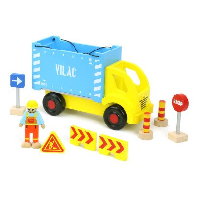 Vilac Container Ship and Accessories Multicoloured-listing