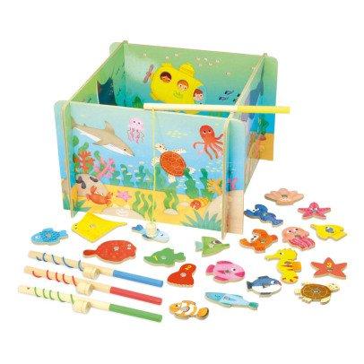 Vilac Jeu de pêche magnétique Océan Multicolore-product